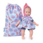 Bébé Ecolo Doll 25 cm : Petite fleur bleue