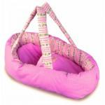Couffin en tissu pour poupée de 28 à 36 cm