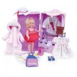 Ma poupée des 4 saisons 21 cm : Malle et accessoires