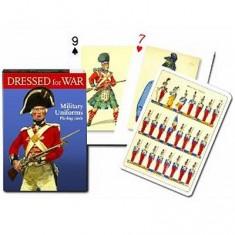 Jeu de 54 cartes Uniforme militaire