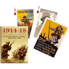 Jeu de 54 cartes Première guerre mondiale 1914-1918