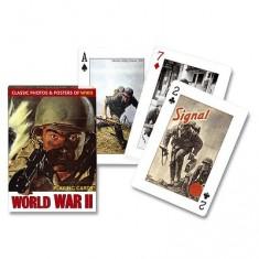 Jeu de 54 cartes Seconde guerre mondiale