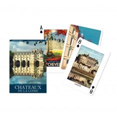 Jeu de cartes : Château de la Loire