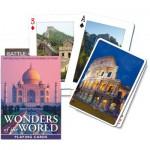 Jeu de cartes : merveilles du monde