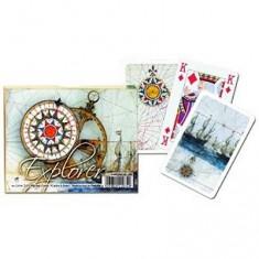 Jeu de cartes : Coffret de 2 x 55 cartes : Explorer