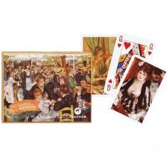 Jeu de cartes : Coffret de 2 x 55 cartes : Renoir : Bridge