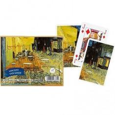 Jeu de cartes : Coffret de 2 x 55 cartes : Van Gogh : Café de nuit