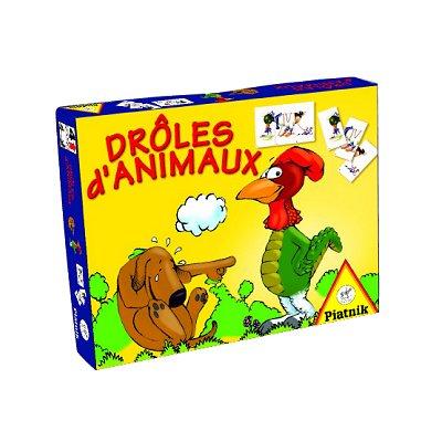 jeu de cartes dr les d 39 animaux jeux et jouets piatnik avenue des jeux. Black Bedroom Furniture Sets. Home Design Ideas