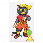 Jeu de cartes Mistigri : Rétro chat