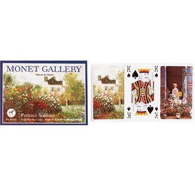 Jeu de cartes Patience Monet - Piatnik-2027