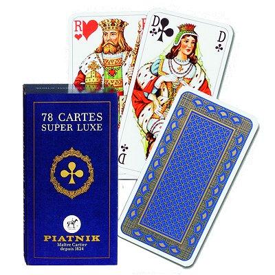 Jeu de tarot 78 cartes luxe jeux et jouets piatnik avenue des jeux - Jeu info naruto ...