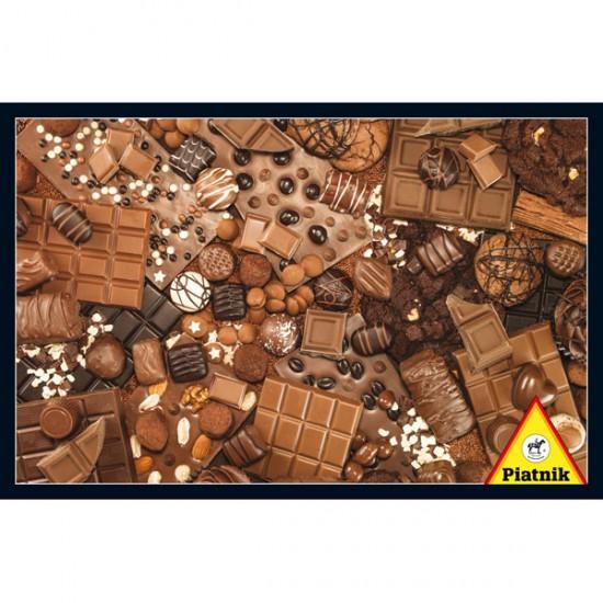 Puzzle 1000 pièces : Chocolat - Piatnik-5382