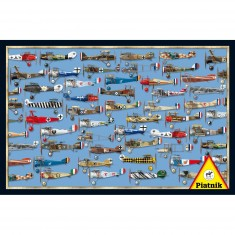 Puzzle 1000 pièces : Dogfight