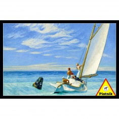 Puzzle 1000 pièces : Edward Hopper : Ground Swell