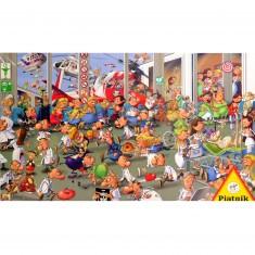 Puzzle 1000 pièces : François Ruyer : Urgences