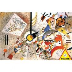 Puzzle 1000 pièces : Kandinsky : Bustling Aquarelle
