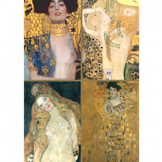 Puzzle 1000 pièces : Klimt Collection - Piatnik-5388
