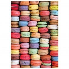 Puzzle 1000 pièces : Macarons