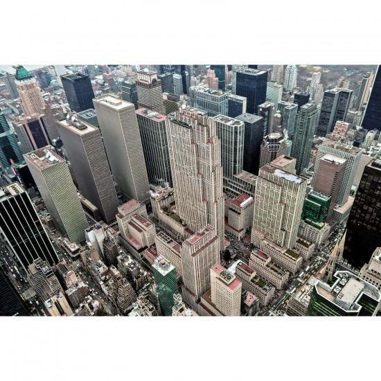 Puzzle 1000 pièces : New York vue du ciel - Piatnik-5374