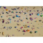 Puzzle 1000 pièces : Plage en survol