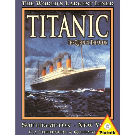 Puzzle 1000 pièces : Titanic - Piatnik-5389