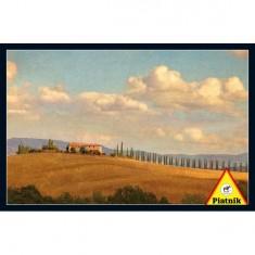Puzzle 1000 pièces : Toscane