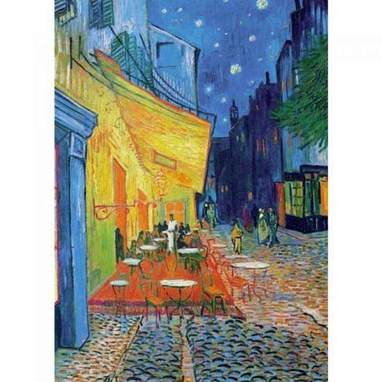 Puzzle 1000 pièces : Van Gogh : Terrasse du café le soir - Piatnik-5390