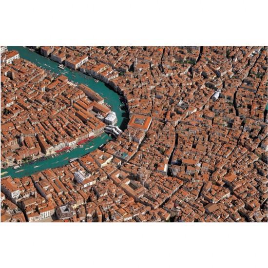 Puzzle 1000 pièces : Venise vue du ciel - Piatnik-5377
