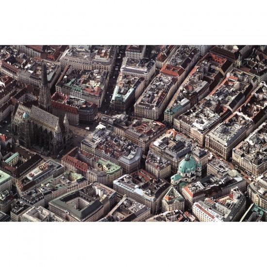 Puzzle 1000 pièces : Vienne vue du ciel - Piatnik-5378
