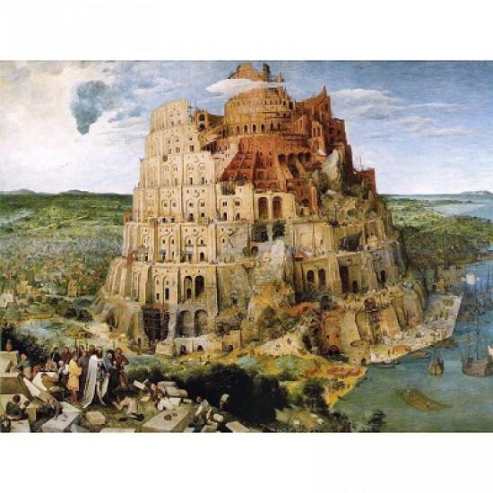Puzzle 1000 pièces - Brueghel : La Tour de Babel - Piatnik-5639