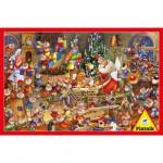 Puzzle 1000 pièces François Ruyer : Le Père Noël
