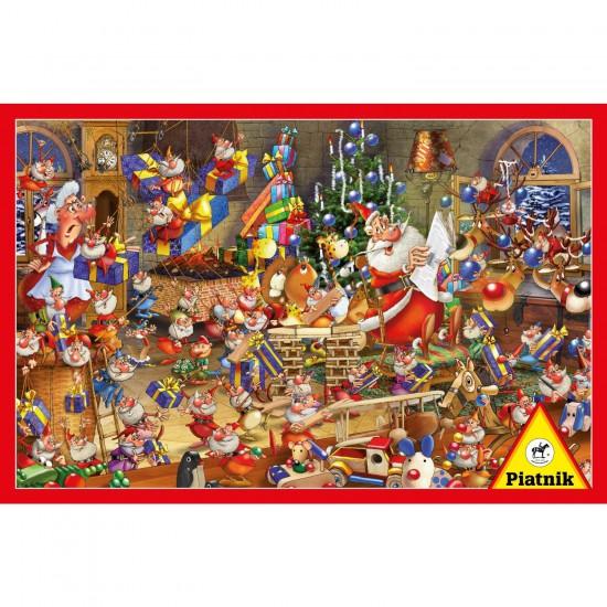 Puzzle 1000 pièces François Ruyer : Le Père Noël - Piatnik-5379