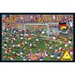 Puzzle 1000 pièces François Ruyer : Le terrain de football