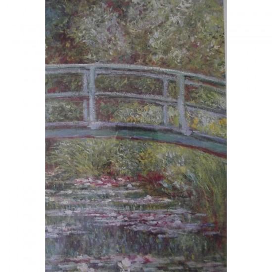Puzzle 1000 pièces - Monet : Pont Japonais - Piatnik-5346