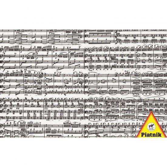 Puzzle 1000 pièces - Partition musicale - Piatnik-5434