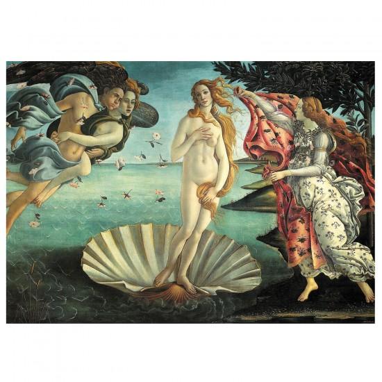 Puzzle d'art 1000 pièces - Boticelli : Naissance de Venus - Piatnik-5421