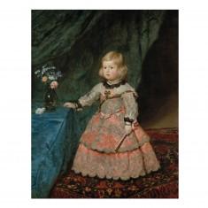 Puzzle d'art 1000 pièces - Velasquez : L'infante