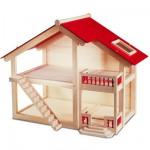 Maison de poupées en bois Grand modèle