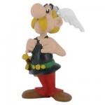 Figurine Astérix et Obélix : Astérix tenant ses bretelles
