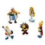Figurines Astérix et Obélix : Coffret de 5 figurines