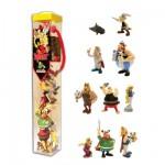 Figurines Astérix et Obélix : Tubo de 10 figurines