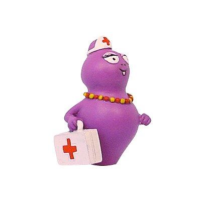 Figurine Barbapapa : Barbabelle infirmière - Plastoy-65624