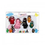 Figurines Barbapapa : Coffret de 5 figurines