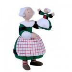 Figurine Bécassine et la marionnette poupée Bécassine