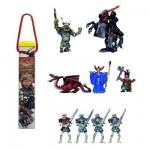 Figurine Chevaliers: Tubo de 10 figurines: Les Terres Hostiles