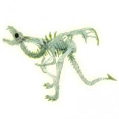 Figurine Dragon squelette translucide et phosphorescent