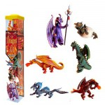Figurines Dragons 2 : Tubo de 6 figurines
