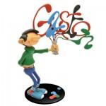 Figurine collectoys : Gaston Lagaffe et son tube de peinture