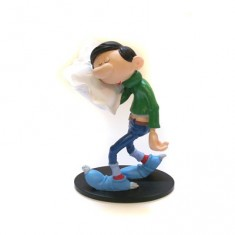 Figurine Gaston Lagaffe Collectoys : Oreiller
