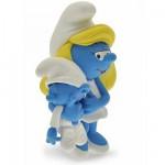 Figurine Schtroumpf Collectoys : Schtroumpfette et bébé Schtroumpf